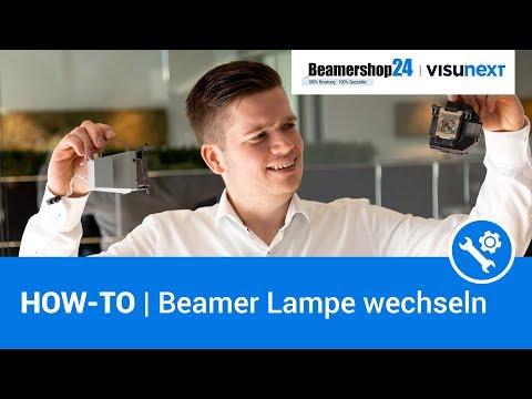 HOW-TO | Beamer Lampe wechseln ▶ Schritt für Schritt