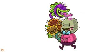 Happy Valenbrainz from PvZ