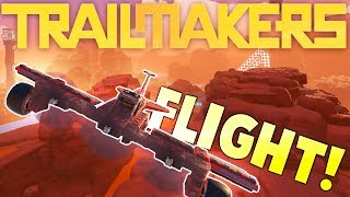 Trailmakers - Builing A Propeller Plane - Flying Aircrafts - Trailmakers Gameplay | Kholo.pk