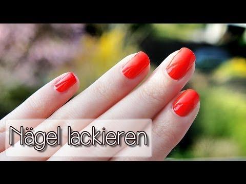 Nägel sauber lackieren - Tutorial | Collchen14
