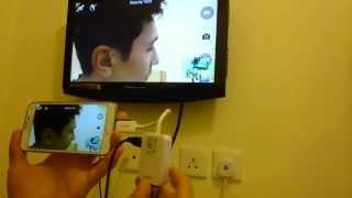 ConnectGalaxyS5toHDTVusingyourHDMI/HDTVAdapter