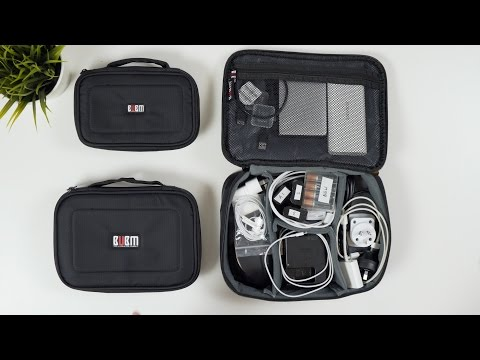 Best Travel Tech Bag 2017! – BUBM 3pcs/Set | Review