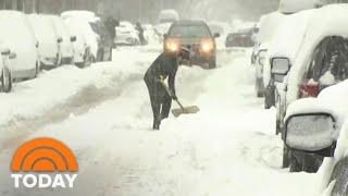 Brutal Winter Storm Slams Northeast | TODAY