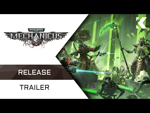 Warhammer 40,000: Mechanicus | Release Trailer thumbnail