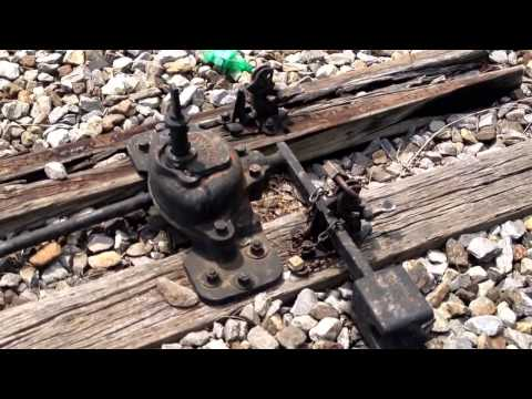 Railroad switches and how they work