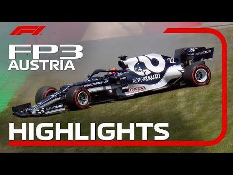 F1第9戦オーストリアGPのFP3ハイライト動画