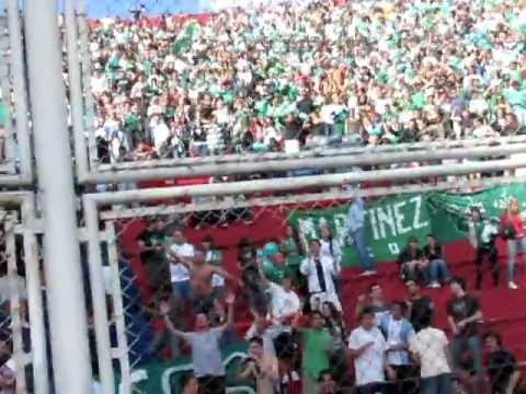 """""""FERRO (0) - (0) RIVER - TRIBUNA DE FERRO (01-10-2011)"""" Barra: La Banda 100% Caballito • Club: Ferro Carril Oeste"""