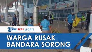 Warga Rusak Fasilitas Bandara Sorong seusai Isu Jenazah Jimmy Ijie Tak Dipulangkan, Ini Kata Walkot
