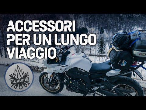 Accessori indispensabili per un lungo viaggio in moto