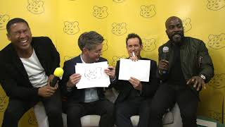 Dick and Dom Catch up with Rickie and Melvin