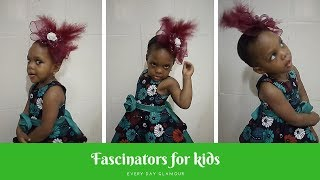 HOW TO MAKE FASCINATORS FOR KIDS. DIY Tutorial Video On Hat Making