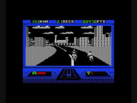 Outrun Europa - ZX Spectrum