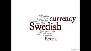 Swedish Currency - Krona