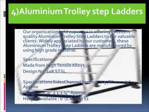 Aluminum Folding Factory Ladder
