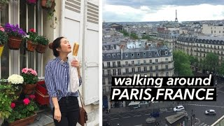 Paris Vlog #2   Trendy Spots Recommended By Locals