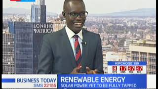 Kenyans tapping potentials in renewable energy industry