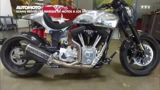 Keanu Reeves nous présente sa marque de moto