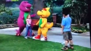 Hi BJ (Walk Around The Block With Barney!)