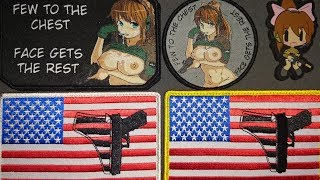 NSR Drill Lewd Morale Patch Unboxing - - - Weapons Grade Waifus