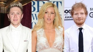Ellie Goulding Slams Ed Sheeran, Niall Horan RUMOR