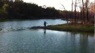 Fly fishing in Bastrop TX
