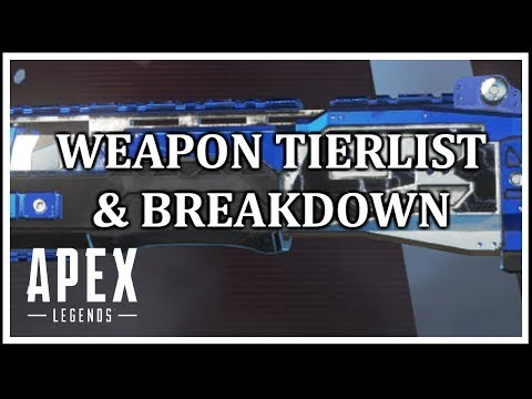 McIntyre - Apex Legends Weapon Tierlist + Breakdown