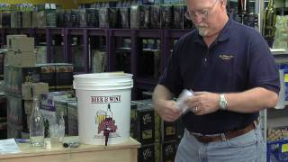 Winemaking Lesson 13 - Transferring to secondary fermentation