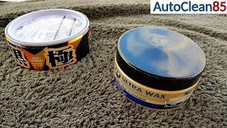 AUTO WACHSEN mit K2 Ultra Wax / Günstig und gut? Direkter Vergleich mit Soft99 Kiwami / CARNAUBA