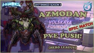 Grubby | Heroes of the Storm - Azmodan - PVE Build - HL 2017 S3 - Volskaya Foundry