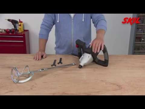 Wie verwendet man einen Paddelrührer?