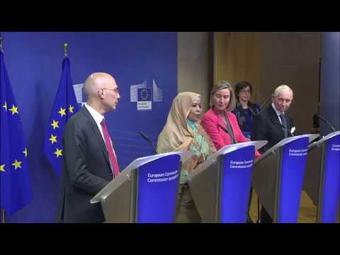 EU-AU-UN Migration Task Force: Mogherini announces further €100m to support IOM and UNHCR