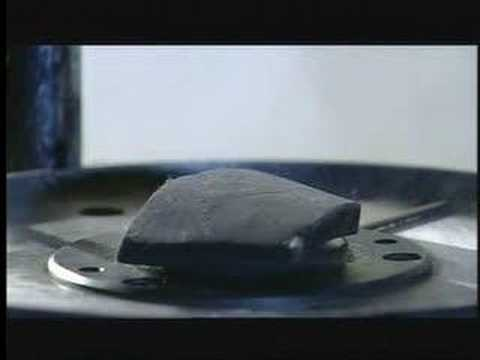 How a Hockey Puck Is Made