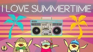 Summer Songs for Kids   I Love Summertime   The Singing Walrus