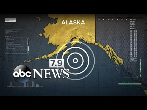 Strong earthquake strikes near Alaska, triggering tsunami warning for hours