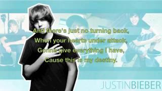 Justin Bieber - Never Say Never (Lyrics & Download Link)