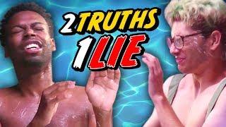 THE WETTEST 2 TRUTHS, 1 LIE - WATER CHALLENGE