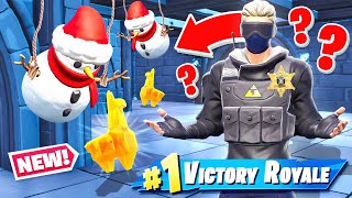 CAN WE DO A *SNOWMAN* MUSEUM HEIST? (Fortnite)