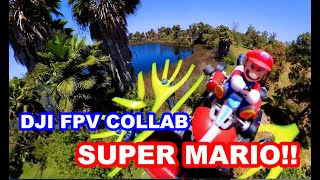 DJI FPV & SUPER MARIO COLLAB 360 4K VIDEO!! INSTA360 DUAL 360 CAMERA!!