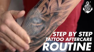 Professional Tattoo Aftercare Guide (Day-by-Day) | Sorry Mom