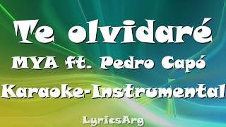 Te Olvidaré   MYA | Karaoke   Instrumental