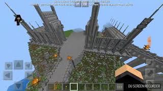 Игра Minecraft КАРТА ХОГВАТС ПО ФИЛЬМУ Гарри Поттер