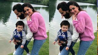 Kareena Kapoor Looks Happy Enjoyinh Outing With Taimur And Saif Ali Khan After Long Time   