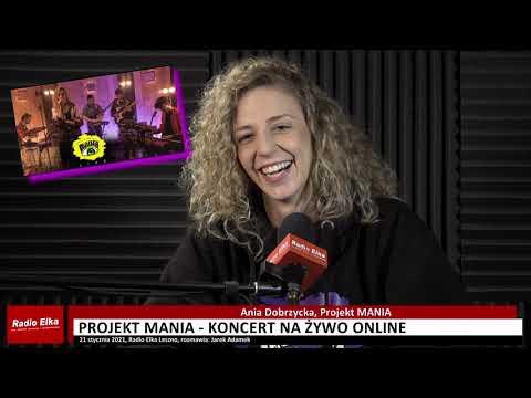 Wideo1: Ania Dobrzycka Projekt Mania zaprasza na koncert online