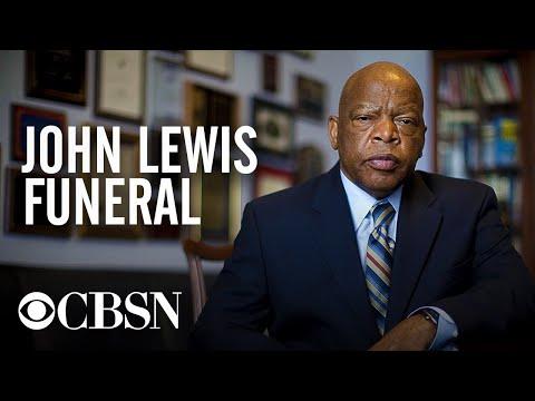 Watch live: Congressman John Lewis' funeral service