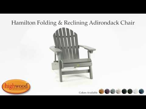highwood adirondack chair mid century modern wire folding and reclining usa hamilton instructional video