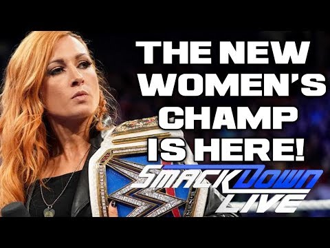 WWE Smackdown Live Sept. 18, 2018 Full Show Review & Results: BECKY LYNCH CHAMPIONSHIP CELEBRATION