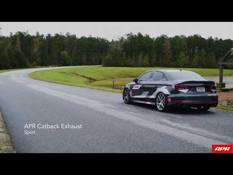 APR S3 Catback Exhaust Demo