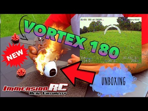 Vortex 180 In Depth Unboxing, Review, Racing, Crashing & Freestyle