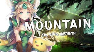 Nightcore - Mountains (LSD ft. Sia, Diplo, Labrinth) (Lyrics)