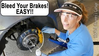 How To Flush and Bleed your Brakes - EASY!